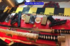 Pistol introdus ilegal în țară, confiscat de polițiști la Bughea de Jos