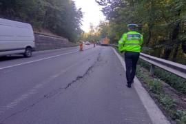 Poliția avertizează! Restricții de trafic pe DN7 Cotmeana până în noiembrie